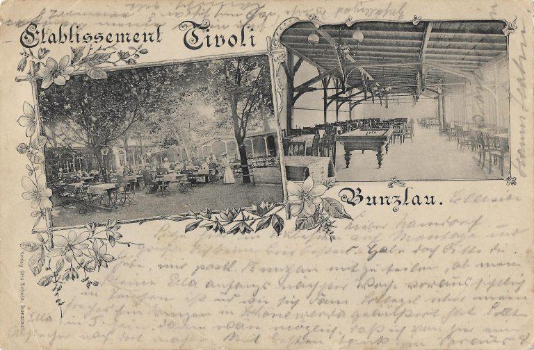 Restauracja Tivoli przy ul. Zgorzeleckiej 17, przed 1903 r.