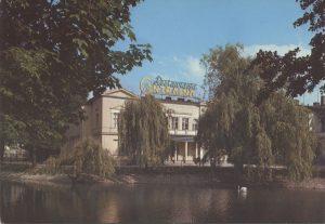 """Bolesławiec, Restauracja """"Centralna"""", 1985 r."""