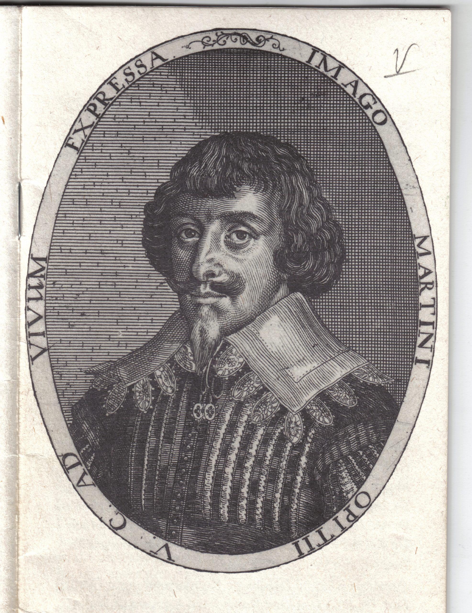 Portret M. Opitza, grafika S. Furtiusa, 1650 r., zbiory Muzeum Ceramiki w Bolesławcu