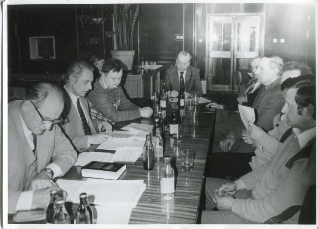 Spotkanie założycielskie Bolesławieckiego Towarzystwa Fotograficznego, 23 IV 1981 r.