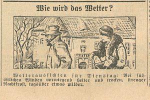 Bunzlauer Stadblatt 30.11.1931
